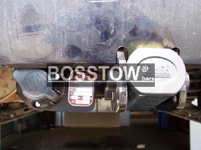 Anhängerkupplung für VW-Sharan 4x4 nicht Parktronic, Baureihe 1998-2000  horizontal