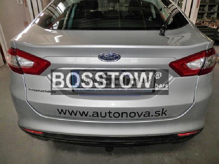 Anhängerkupplung für Ford-Mondeo Turnier, mit Niveauregulierung, nicht, 4x4, nicht RS,ST, nicht Titanium, Baureihe 2015-  horizontal
