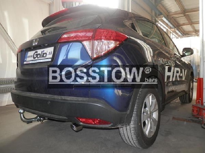 Anhängerkupplung Honda-HR-V, Baureihe 2015-  horizontal