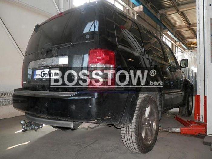 Anhängerkupplung für Dodge-Nitro, Baureihe 2007-  horizontal