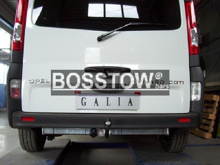 Anhängerkupplung Nissan-Primastar, Baureihe 2006-2008,  Ausf.:  feststehend