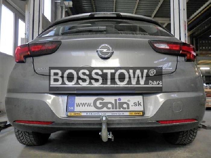 Anhängerkupplung Opel-Astra K, Fließheck, Baureihe 2015- Ausf.:  horizontal