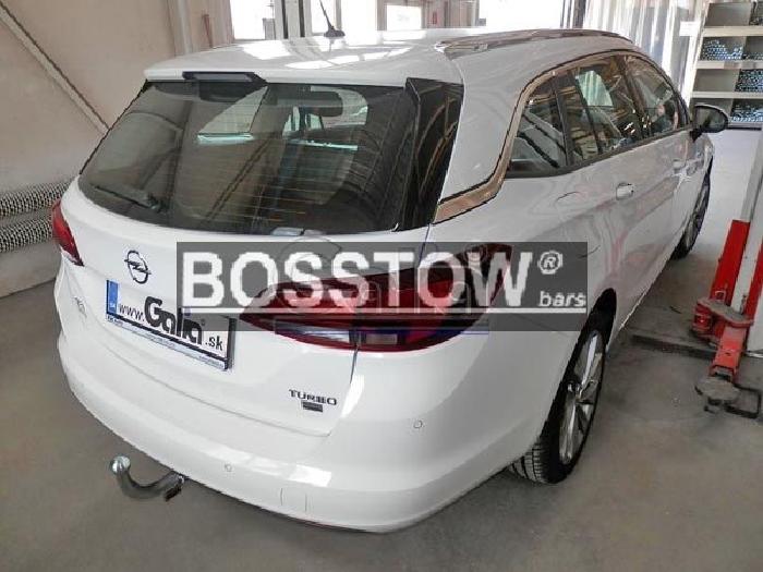 Anhängerkupplung Opel-Astra K, Sports Tourer, Baureihe 2016- Ausf.:  horizontal