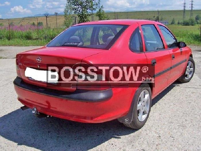 Anhängerkupplung Opel-Vectra B, Limousine, nicht V6, Baureihe 1995-1998 Ausf.:  feststehend