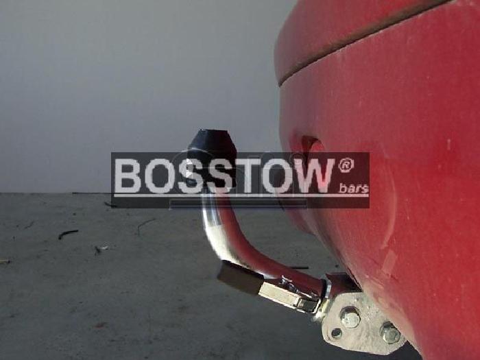Anhängerkupplung für Peugeot-206+ Base, Baureihe 2009-  horizontal