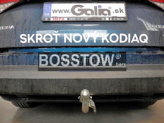 Anhängerkupplung für Skoda-Kodiaq, Baureihe 2017-  horizontal