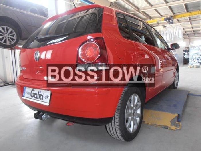 Anhängerkupplung für VW-Polo (9N) Fun, Baureihe 2005-  horizontal