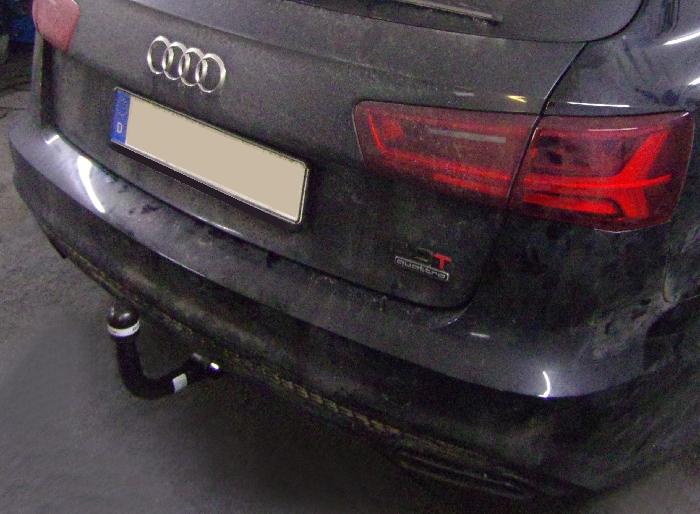 Anhängerkupplung Audi-A6 Avant 4GD/4G, C7, Quattro, Baureihe 2014-2018 Ausf.:  vertikal