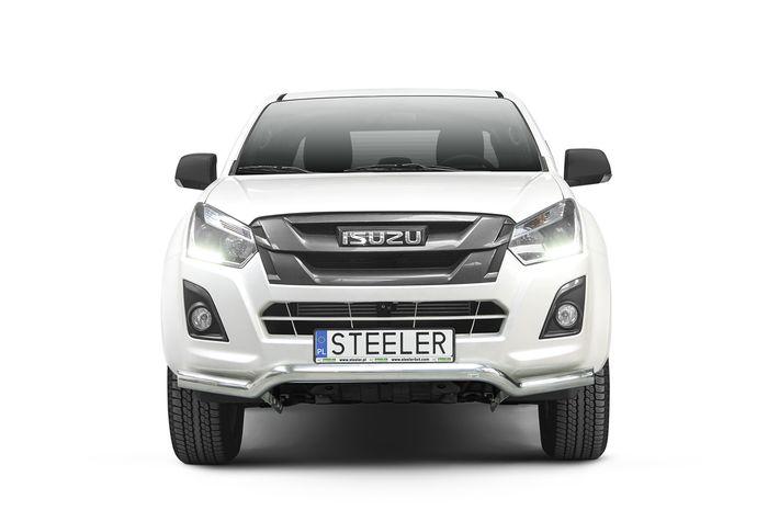 Frontschutzbügel Kuhfänger Bullfänger Isuzu D-Max Space Cab Version 2012-2017, Sportbar 70mm