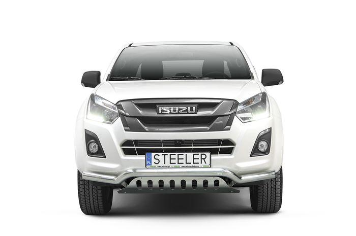 Frontschutzbügel Kuhfänger Bullfänger Isuzu D-Max Space Cab Version 2012-2017, Sportbar UF 70mm