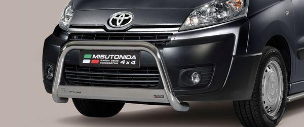 Frontschutzbügel Kuhfänger Bullfänger Toyota Proace 2014-2016, Medium Bar 63mm Edelstahl Omologato Inox