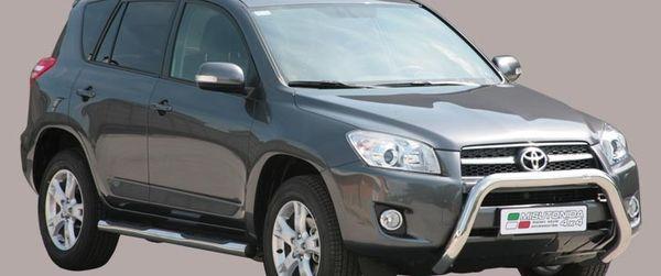 Frontschutzbügel Kuhfänger Bullfänger Toyota RAV4 2009-2010, Super Bar 76mm Edelstahl Omologato Inox