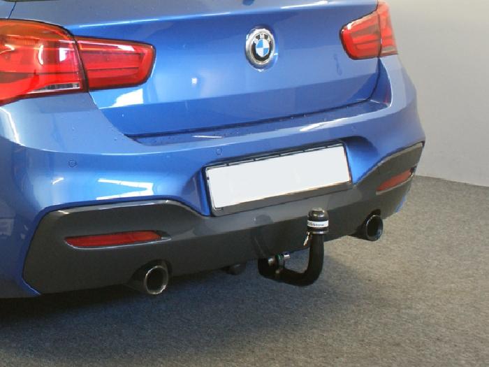 Anhängerkupplung für BMW-1er F20, speziell M140i nur für Heckträgerbetrieb, Baureihe 2016-  vertikal