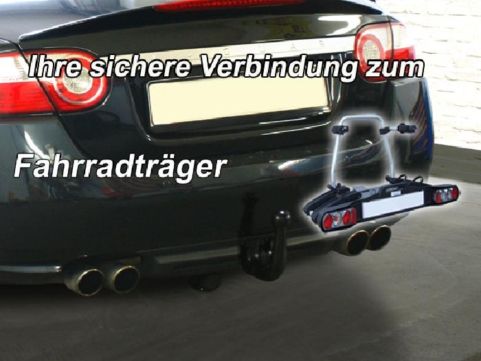 Anhängerkupplung für Jaguar-XKR X 150, sofern keine Anhängelastfreigabe vorh.- nur für Heckträgerbetrieb, Baureihe 2005-  vertikal