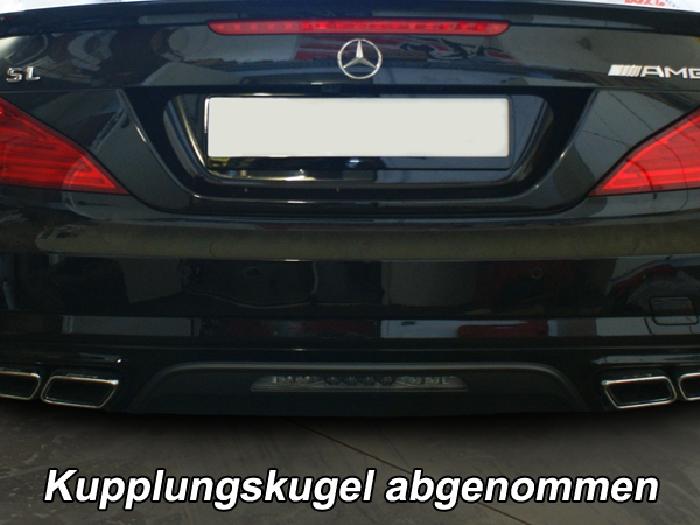 Anhängerkupplung Mercedes-SL R 231, mit Sportpaket, nur für Heckträgerbetrieb, Baureihe 2012-