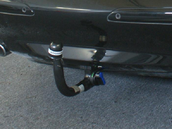 Anhängerkupplung für Mercedes-SL R 230 III, nur für Heckträgerbetrieb, Baureihe 2008-2011  vertikal