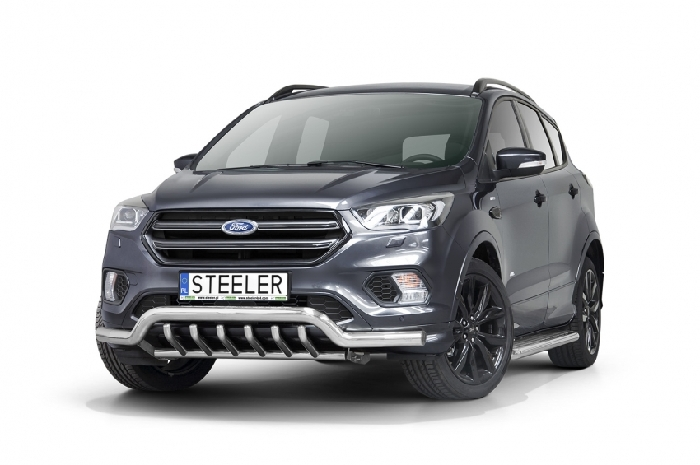 Frontschutzbügel Kuhfänger Bullfänger Ford Kuga 2017-, Sportbar UR 70mm