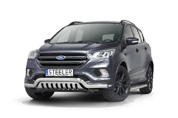 Frontschutzbügel Kuhfänger Bullfänger Ford Kuga 2017-, Sportbar UF 70mm