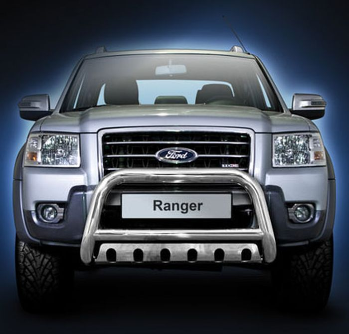 Frontschutzbügel Kuhfänger Bullfänger Ford Ranger 2007-2009, Steelbar QFU 70mm