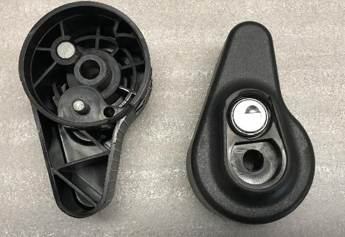 Handrad abschließbar, System Steinhof (Typ W10)