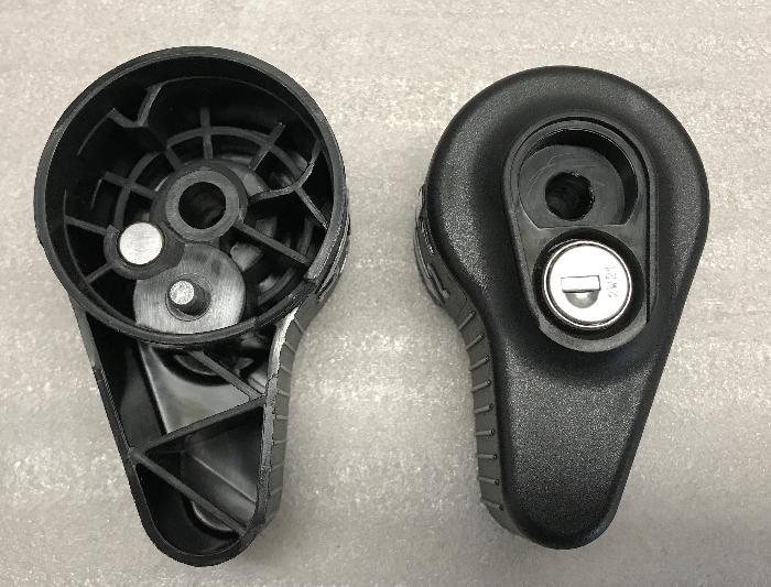 Handrad abschließbar, System Steinhof (Typ W11)