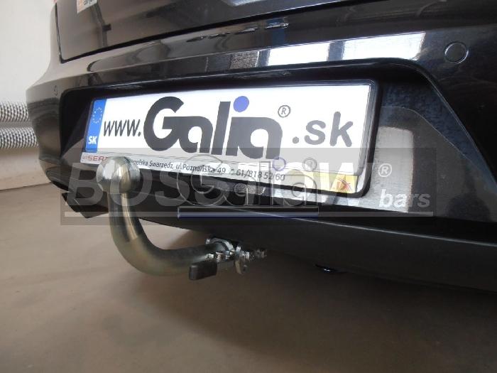 Anhängerkupplung für Audi-A4 Avant nicht Quattro, nicht RS4 und S4, incl. S-line, Baureihe 2001-2004  horizontal