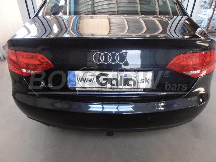 Anhängerkupplung für Audi-A4 Avant Quattro, incl. S4, Baureihe 2008-2015  horizontal
