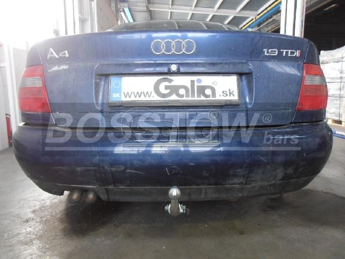 Anhängerkupplung für Audi-A4 Limousine nicht Quattro, nicht S4, Baureihe 1999-2001  horizontal