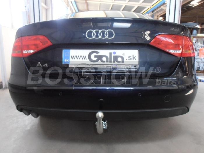 Anhängerkupplung für Audi-A4 Limousine nicht Quattro, nicht S4, Baureihe 2012-2015  horizontal
