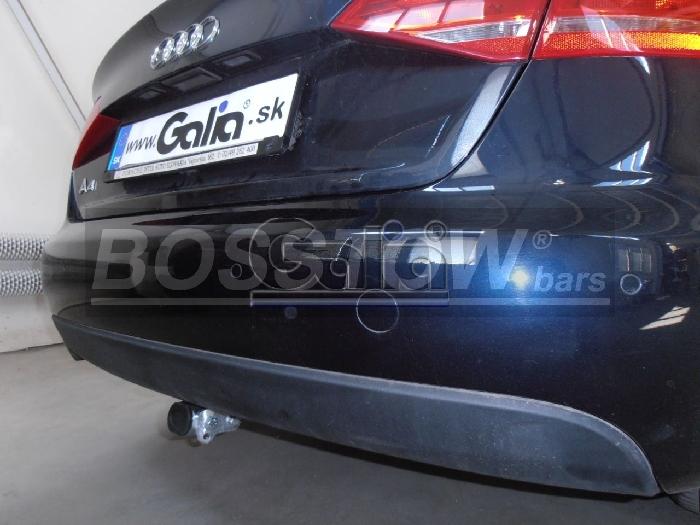Anhängerkupplung für Audi-A4 Limousine Quattro, Baureihe 2012-2015  horizontal