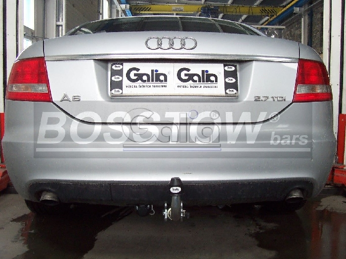 Anhängerkupplung Audi-A6 Avant 4F/C6, Quattro, Baureihe 2004-2008 Ausf.:  horizontal