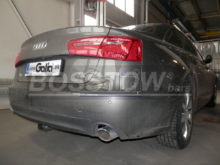 Anhängerkupplung für Audi-A6 Avant 4G2/4G, C7, Quattro, Baureihe 2011-2014  horizontal