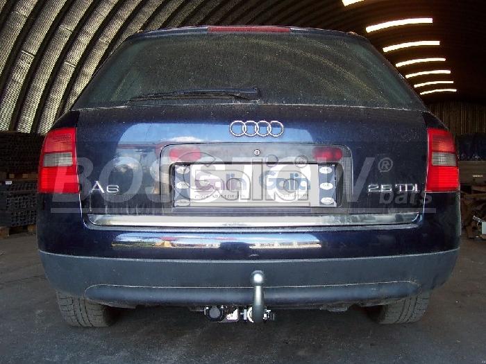 Anhängerkupplung für Audi-A6 Limousine 4b, C5, Quattro, nicht S6, Baureihe 1997-2004  horizontal