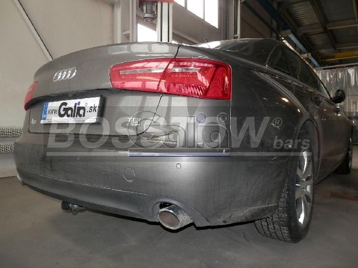 Anhängerkupplung für Audi-A6 Limousine 4GD/4G, C7, nicht Quattro, Baureihe 2014-2018  horizontal