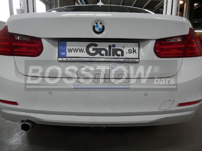 Anhängerkupplung für BMW-1er F20, Baureihe 2011-2014  horizontal