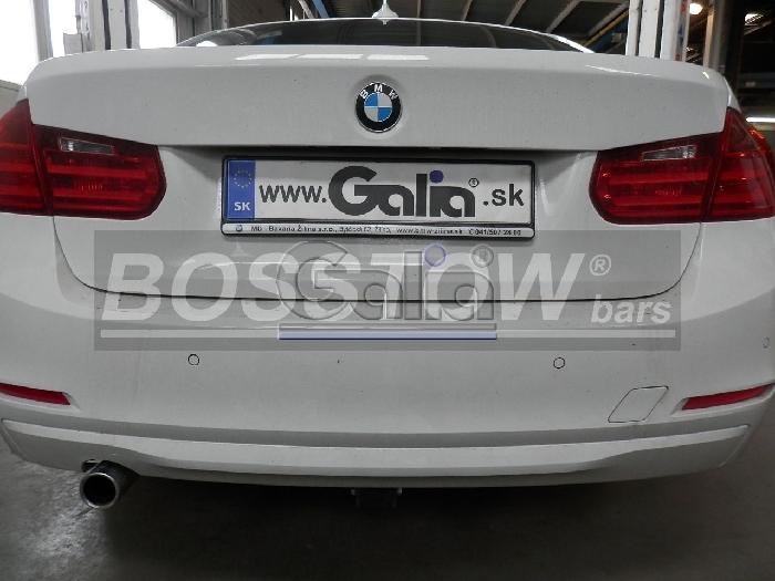 Anhängerkupplung für BMW-3er Limousine F30, Baureihe 2012-2014  horizontal