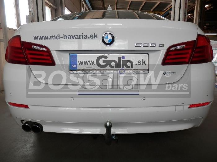 Anhängerkupplung für BMW-5er Limousine F10, Baureihe 2010-2014  horizontal