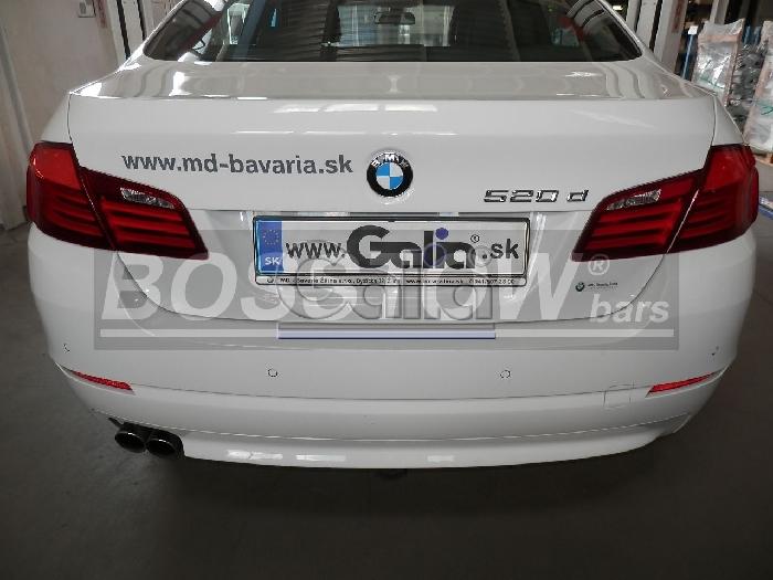 Anhängerkupplung für BMW-5er Limousine F10, Baureihe 2014-  horizontal