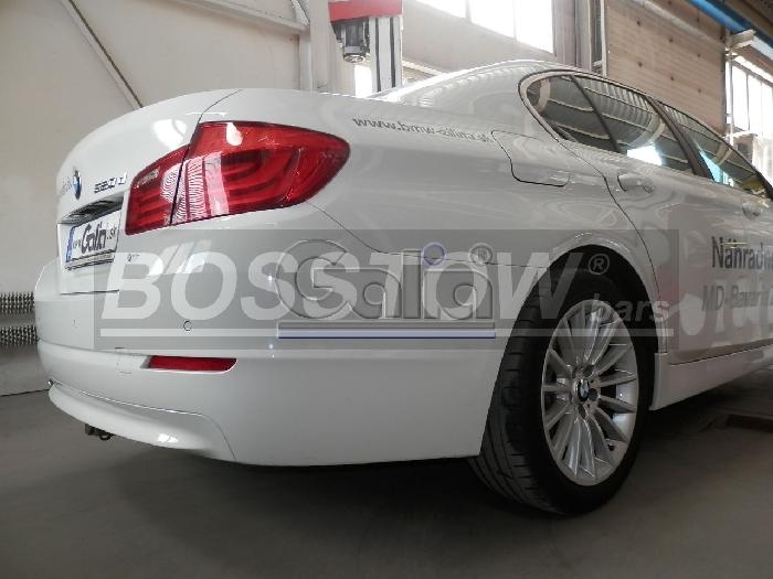 Anhängerkupplung für BMW-5er Touring F11, Baureihe 2014-  horizontal