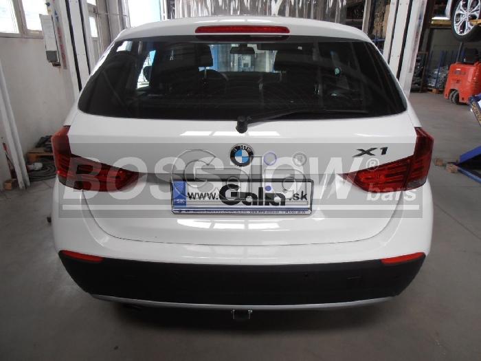 Anhängerkupplung BMW X1 E84 Geländekombi, Baureihe 2009-  horizontal
