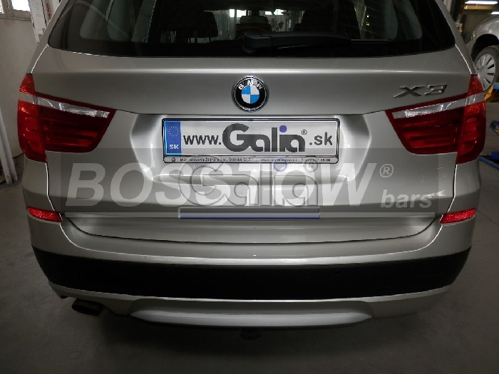 Anhängerkupplung für BMW-X3 F25 Geländekombi, Baureihe 2010-2014  horizontal