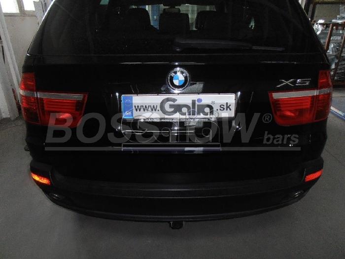 Anhängerkupplung für BMW-X5 E70, Baureihe 2007-2013  horizontal