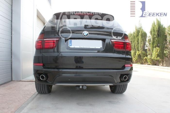 Anhängerkupplung für BMW-X5 F15, Baureihe 2013-2018  horizontal