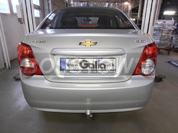 Anhängerkupplung für Chevrolet-Aveo Limousine, Baureihe 2011-  horizontal