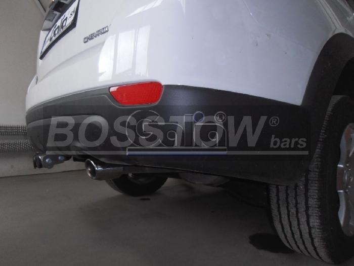 Anhängerkupplung für Chevrolet-Captiva Fzg. mit Elektrosatz Vorbereitung, Baureihe 2006-2012  horizontal