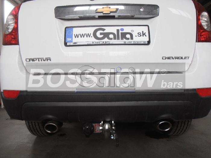 Anhängerkupplung für Chevrolet-Captiva Fzg. mit Elektrosatz Vorbereitung, Baureihe 2013-  horizontal