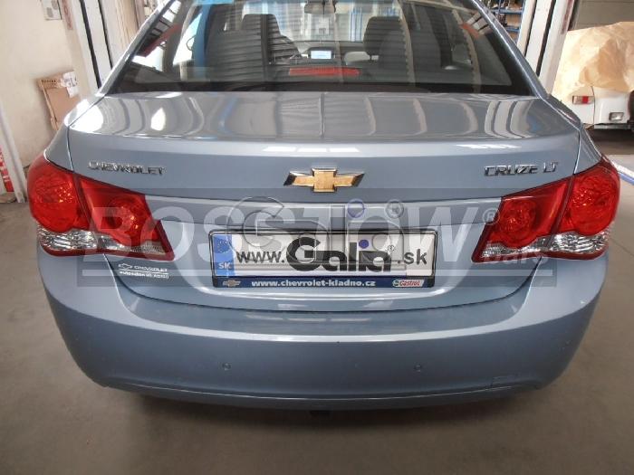 Anhängerkupplung für Chevrolet-Cruze Fließheck, Baureihe 2011-  horizontal