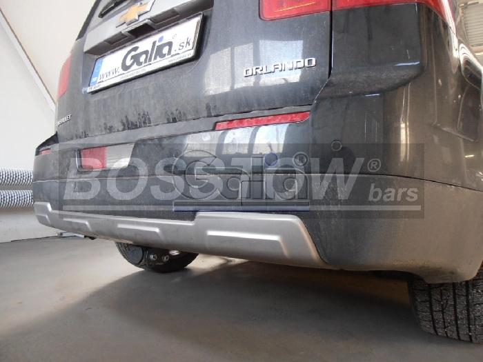 Anhängerkupplung für Chevrolet-Orlando, Baureihe 2011-  horizontal