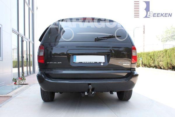Anhängerkupplung für Chrysler-Voyager, Baureihe 2001-2008  horizontal