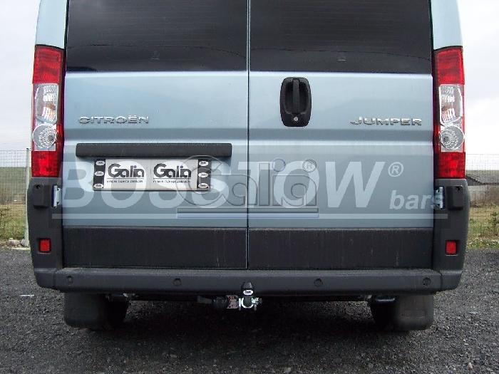 Anhängerkupplung für Citroen-Jumper Kasten, Bus, alle Radstände L1, L2, L3, L4, XL, Baureihe 2014-  horizontal